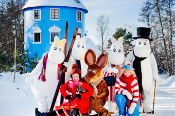 2016 MOOMIN CHARACTERS TM & DENNIS LIVSON/Visit Finland