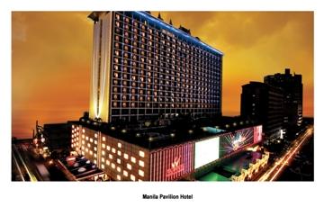 フィリピン航空直行便《午前発》で行く!マニラ3日間!カジノ付ホテル&観光にも便利なロケーション♪『マニラパビリオンホテル・デラックスルーム』に滞在♪《往復送迎・朝食付》