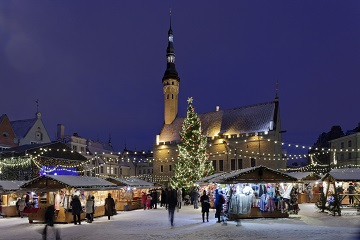 タリンのクリスマスマーケット/Tallinn City Tourist Office & Convention Bureau