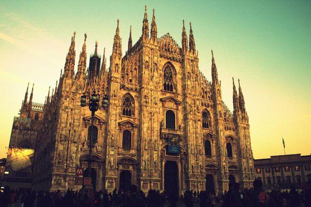 イタリア・ミラノの大聖堂ドゥオーモ