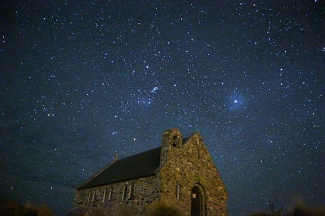 テカポ湖の星空