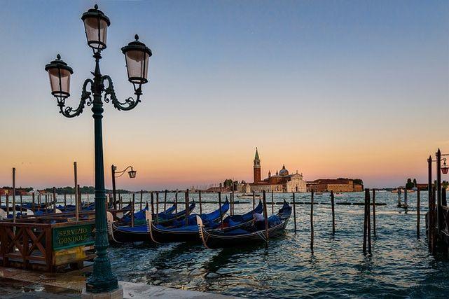 ベネチアの景色