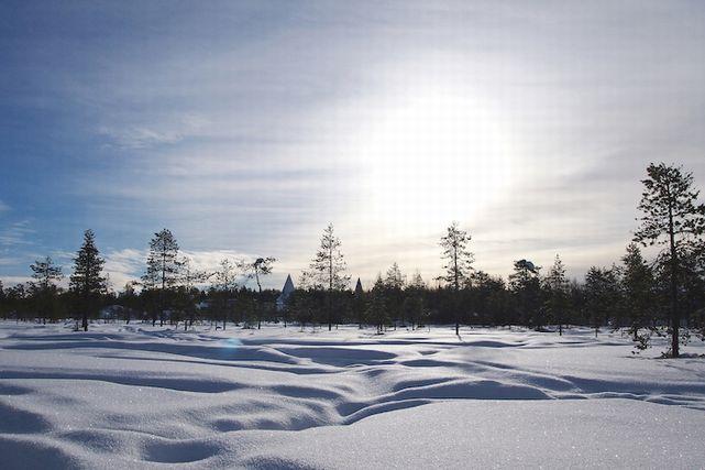 フィンランド・ロヴァニエミの風景