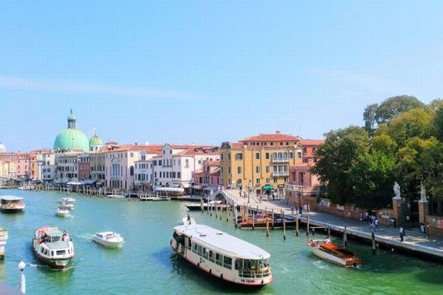 イタリアのベネチアの風景