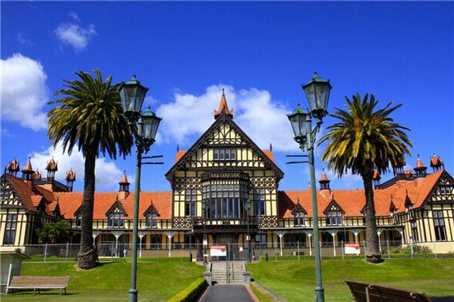 ニュージーランドのロトルア博物館
