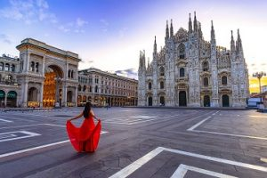 ミラノの街のイメージ