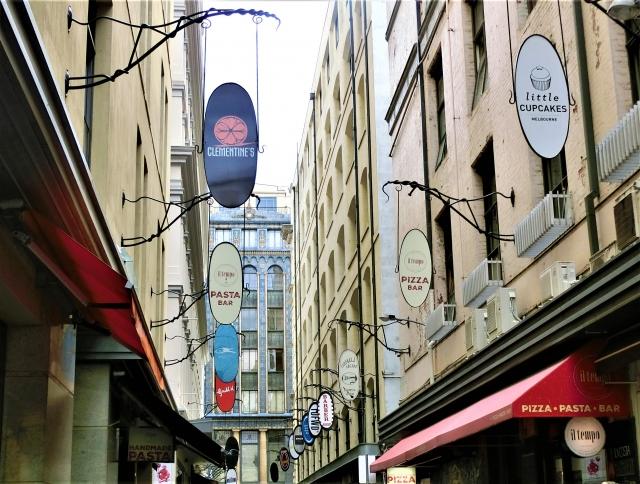 オーストラリア メルボルンの街並み
