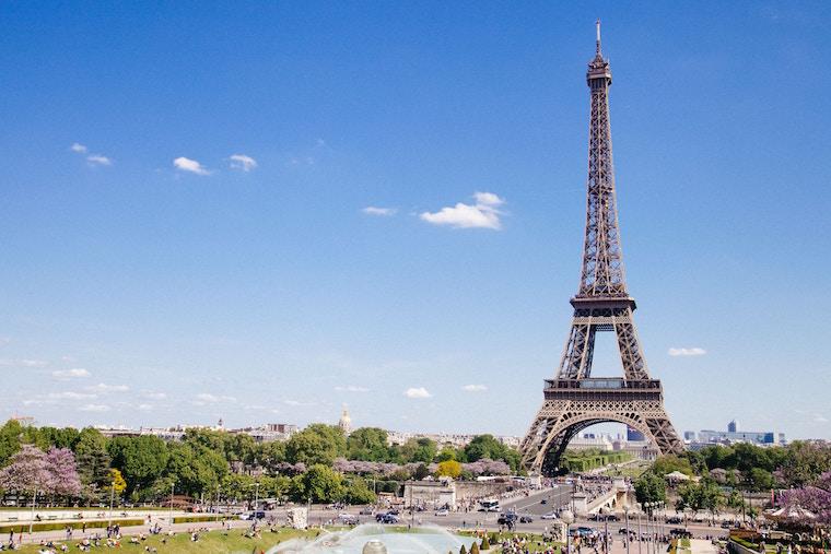 フランスパリの街並み