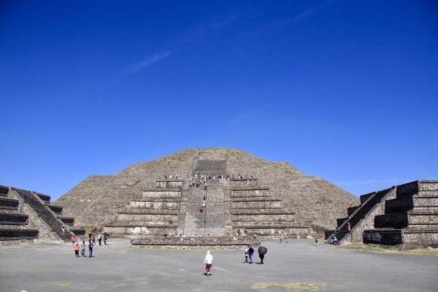 メキシコ テオティワカン遺跡